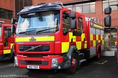 Northern Ireland Fire & Rescue Service / S3501 / VEZ 7013 / Volvo FLL / Water Rescue Ladder
