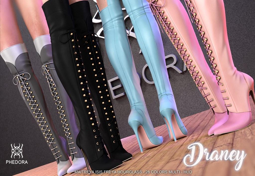 "Phedora. for Kustom9- ""Draney"" boots!!!"