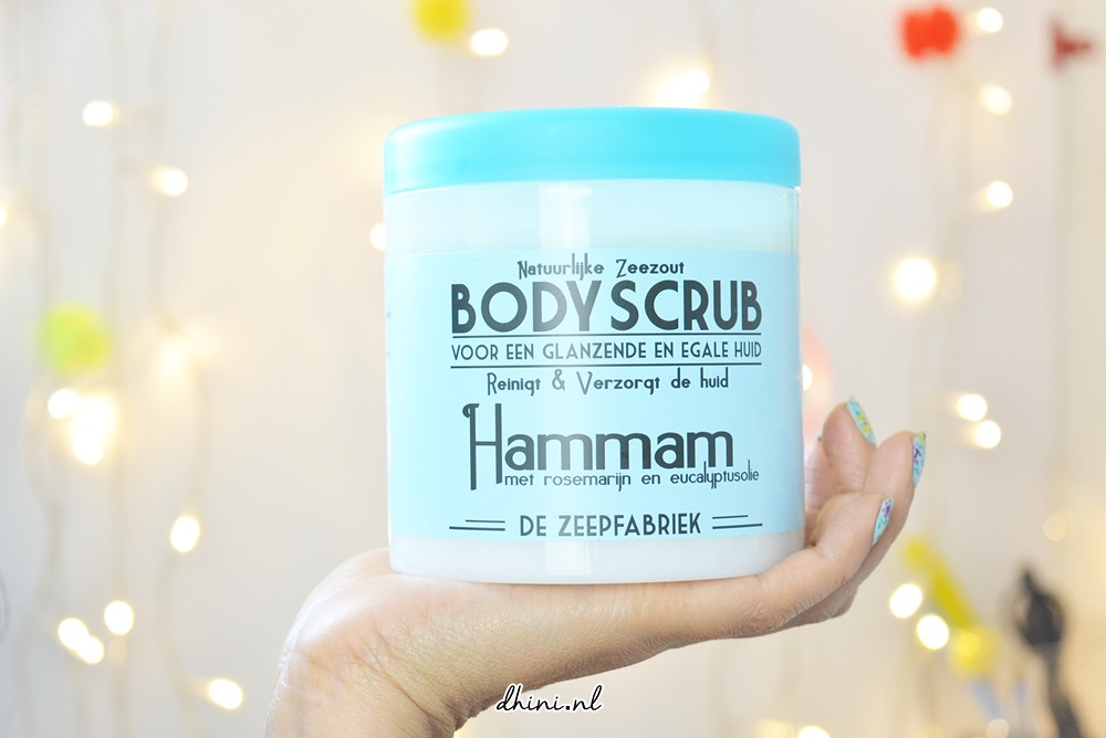 Body scrub Hammam