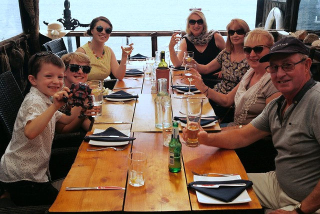 Birthday Lunch at The Boathouse