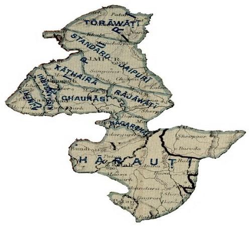 हाड़ौंती की भौगोलिक स्थिति
