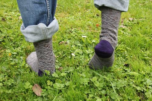 Daddy's socks