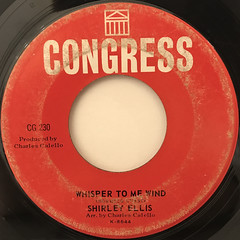 SHIRLEY ELLIS:THE NAME GAME(LABEL SIDE-B)