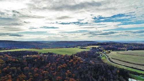 sky clouds countryside dji phantom4advanced quadcopter drone color photography aerial fall