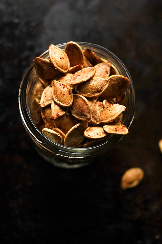 Slow Roasted Super Savoury Pumpkin Seeds Tutorial