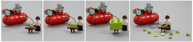 Pump up the LEGO...