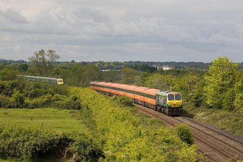 railroad limerick junction ireland class201 iarnród éireann