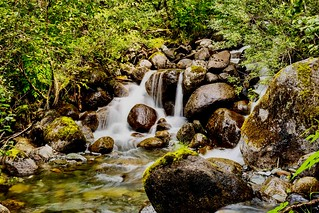 Ketchikan Cascade | by WVTROUT