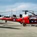 Aerospatiale SA341 Gazelle HT3 XW902/H Brize Norton 12-6-82