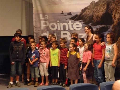 Echange pédagogique : retrouvailles à la Pointe du Raz