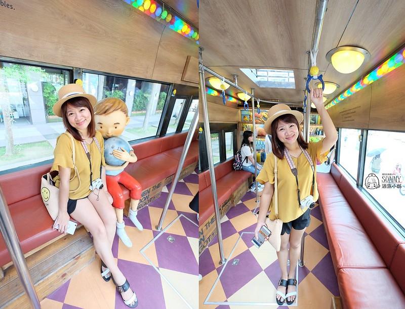 台北景點|台北101,幾米公車,擁抱月亮