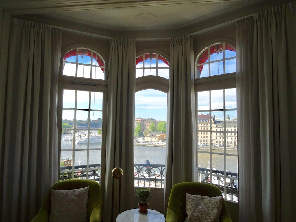 View of Room 402 at the Hotel Diplomat Stockholm
