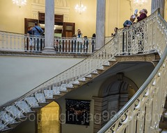 Rotunda Stairway, New York City Hall, Lower Manhattan, New York City