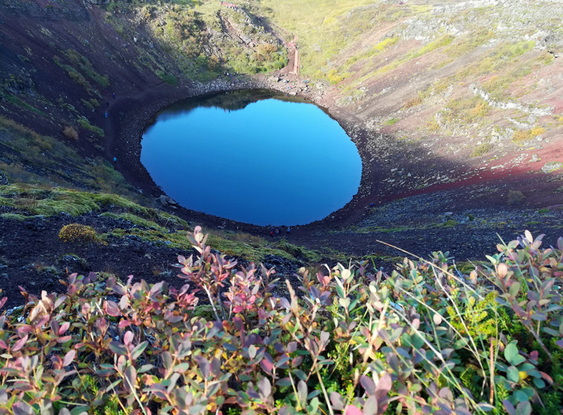 kerid-crater-lake
