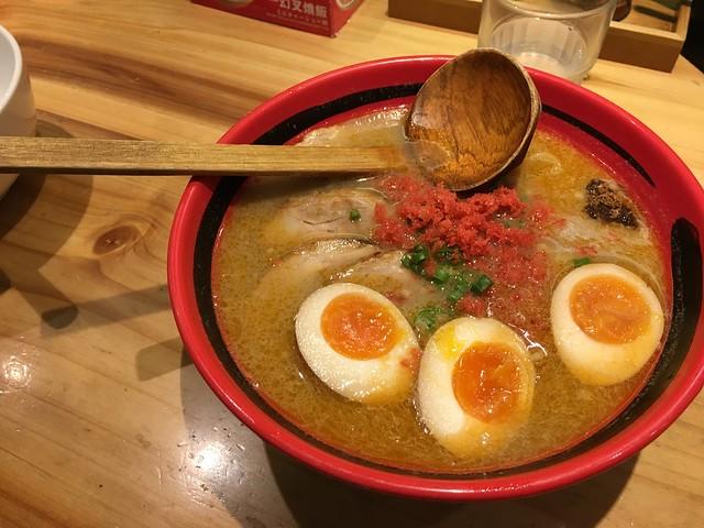 蝦味鹽味拉麵@一幻拉麵台北信義店