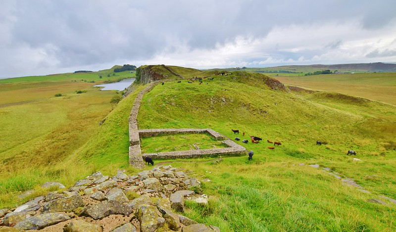 Hadrian's Wall from The Sill