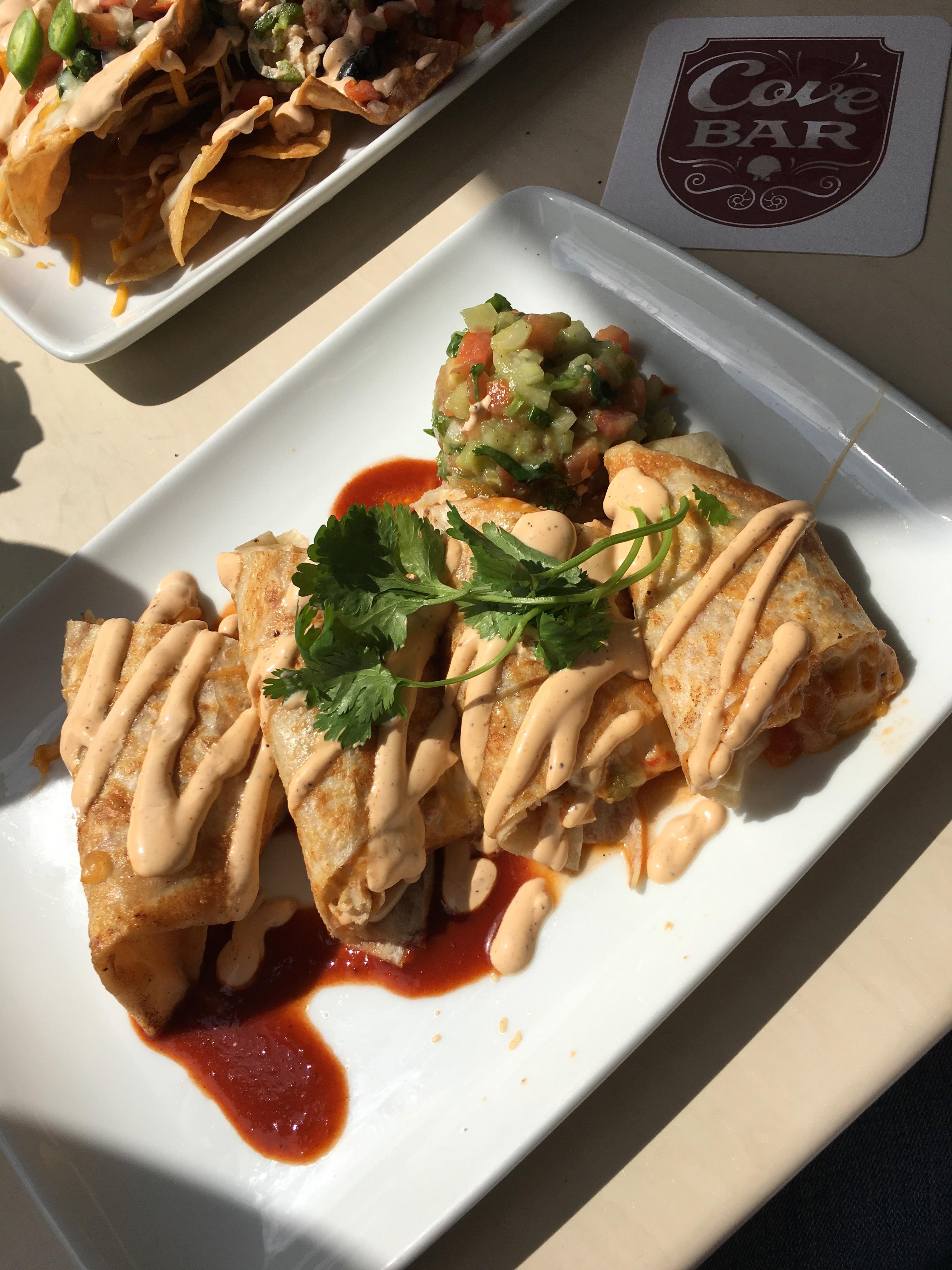 disneyland californai - chicken enchiladas