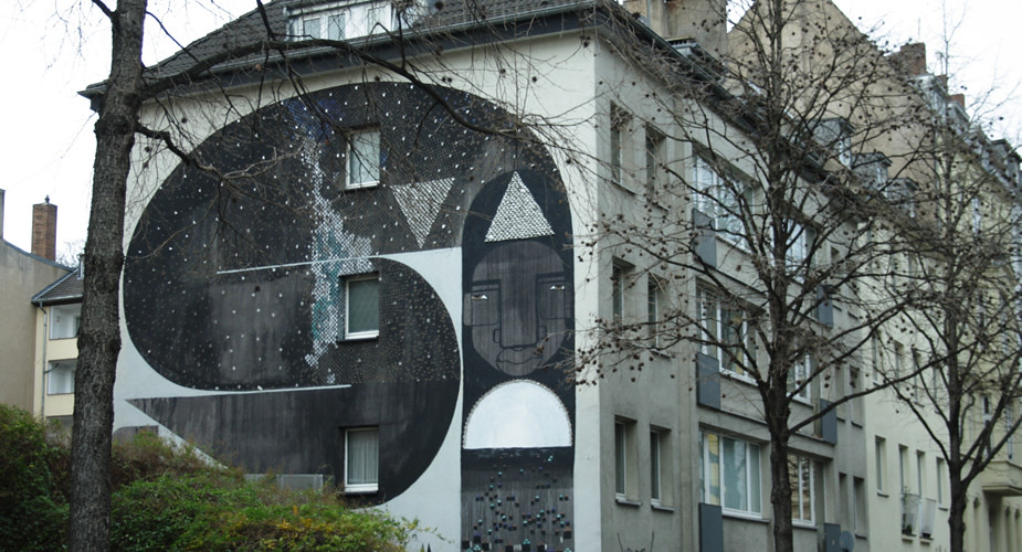 Street art in Keulen: Belgisches Viertel | Mooistestedentrips.nl