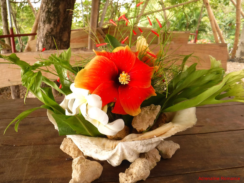 Natural table centerpiece