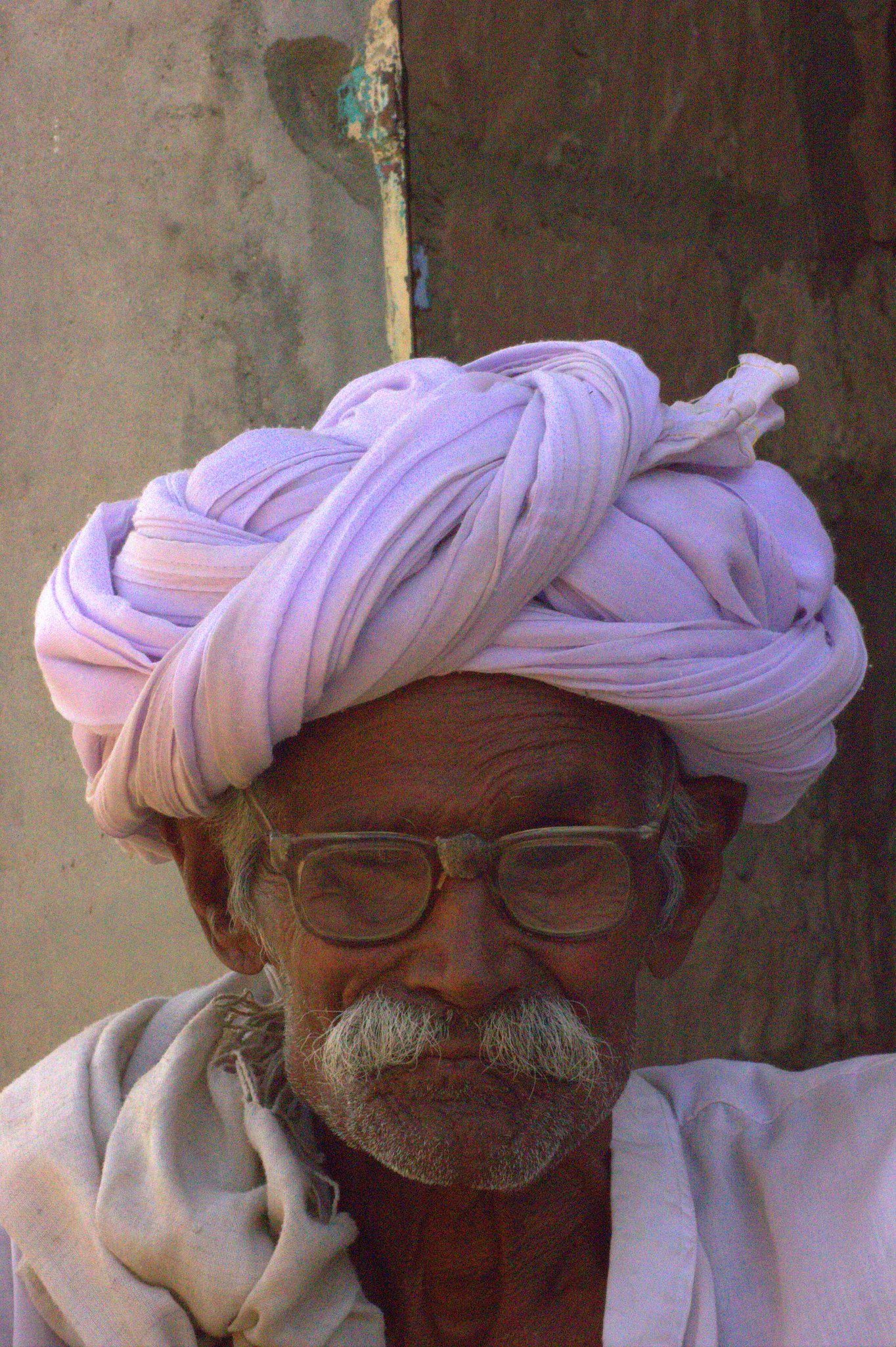 An old man in Salawas