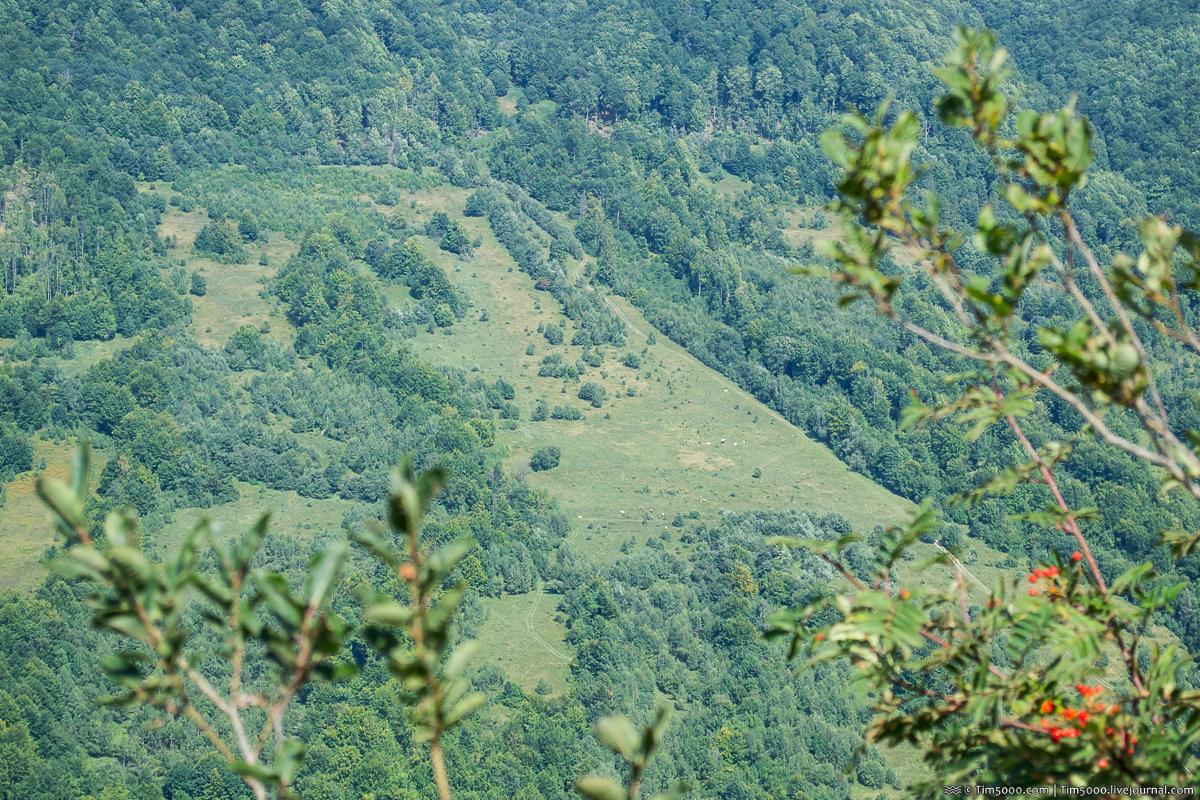 Гора Плишка 1068 метров
