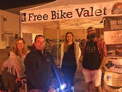 Bike Valet at 2017 Red Davis Celebration