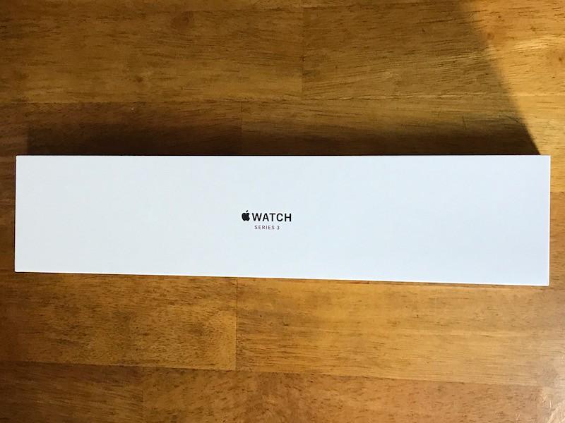 Apple Watch Series3の外箱
