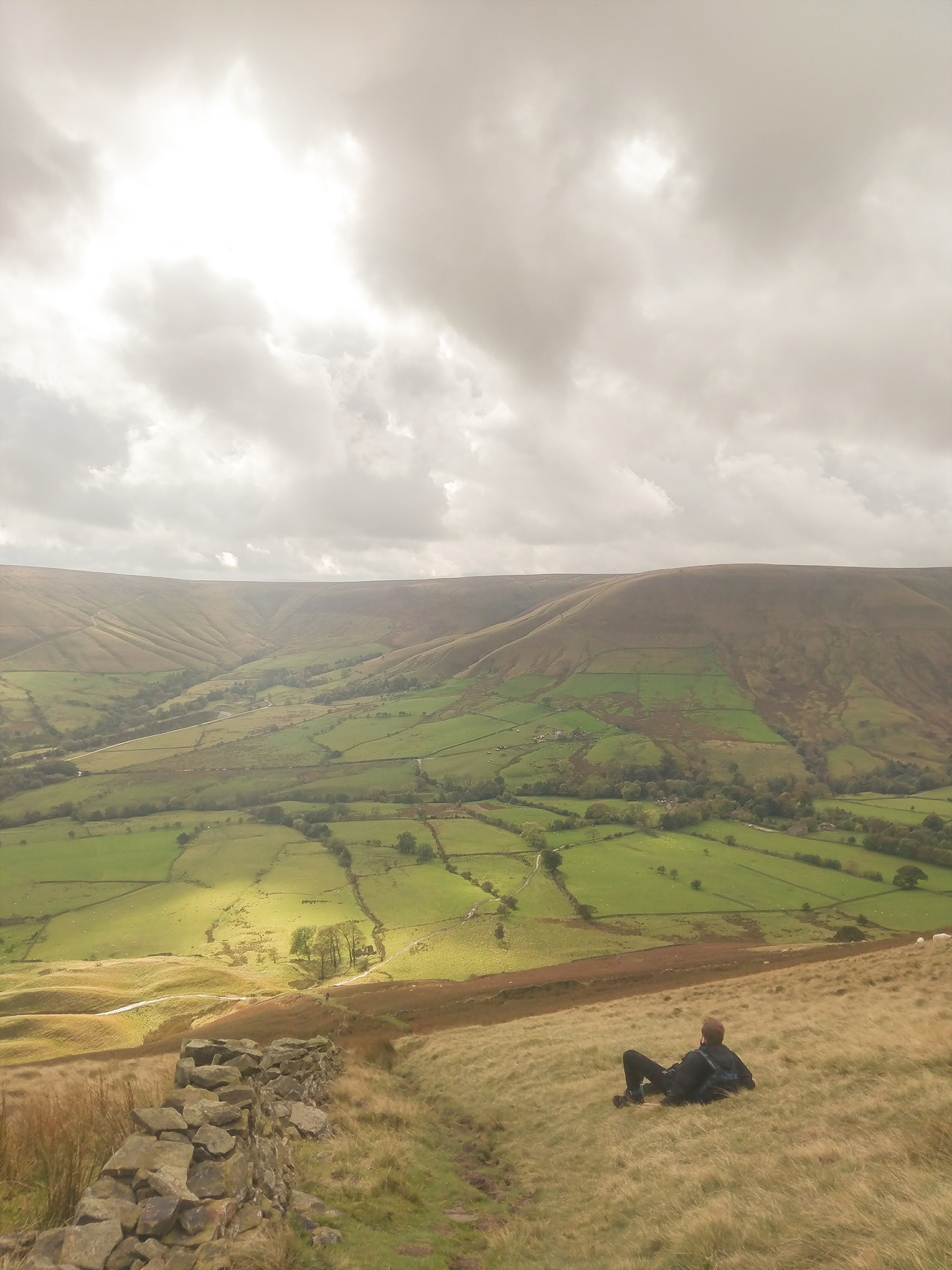 Climbing Kinder Scout - Edale, Peak District