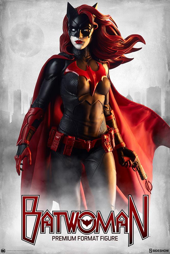 Sideshow Collectibles DC Comics【女蝙蝠俠】Batwoman 1/4 比例全身雕像作品