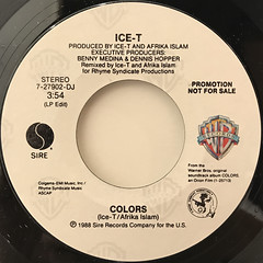 ICE-T:COLORS(LABEL SIDE-B)