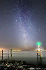 Milky Way with Lighthouse (2)