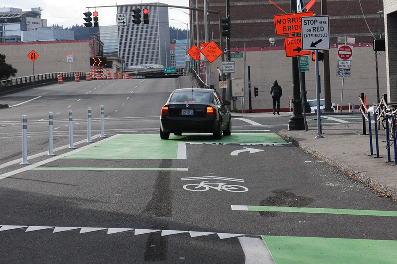 New bikeway on SE Morrison-57.jpg