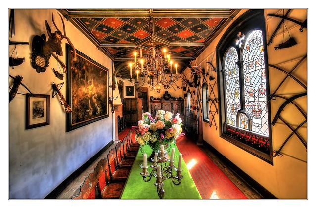 Mespelbrunn - Schloss Mespelbrunn Saal