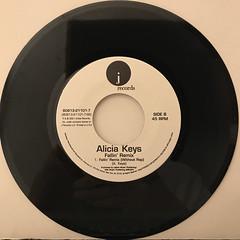 ALICIA KEYS:FALLIN'(RECORD SIDE-B)