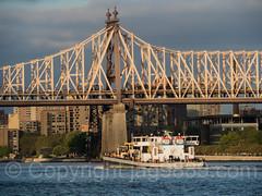 Ed Koch Queensboro Bridge over the East River, Manhattan-Queens, New York City