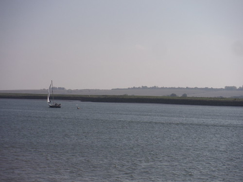 Lone Sailing Boat