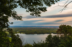 Mississippi River from Great River Bluffs State Park, Minnesota