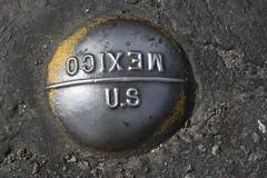 U.S. / Mexico Boundary Border Marker