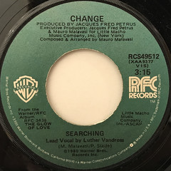 CHANGE:SEARCHING(LABEL SIDE-A)