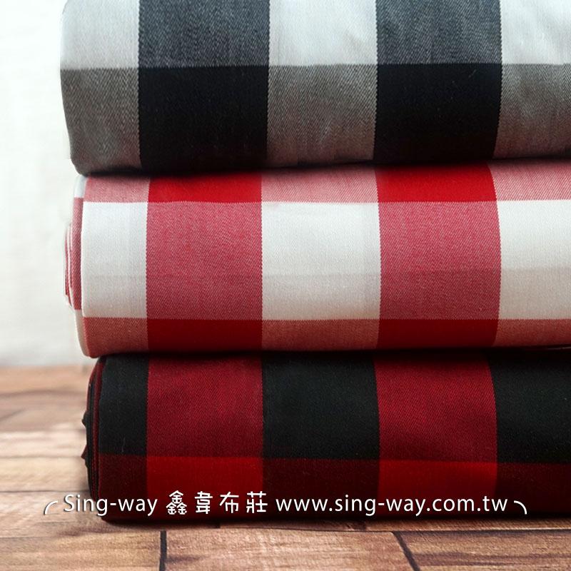 格子 簡約 格紋 襯衫服裝桌巾布料  FC1290024