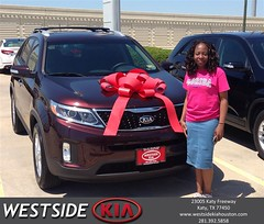 #HappyBirthday to Phephile from Rick Hall at Westside Kia!