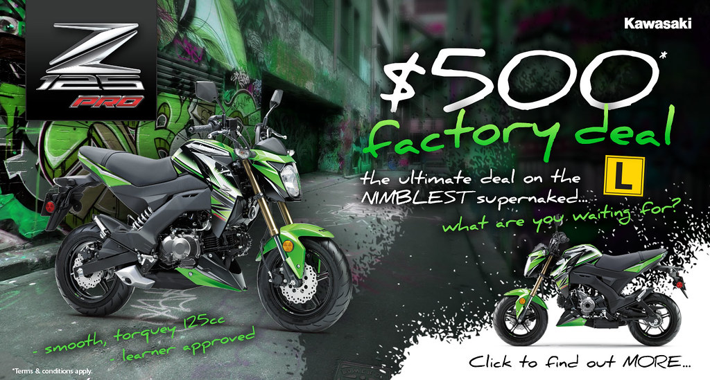 Z125 Pro Factory Deal