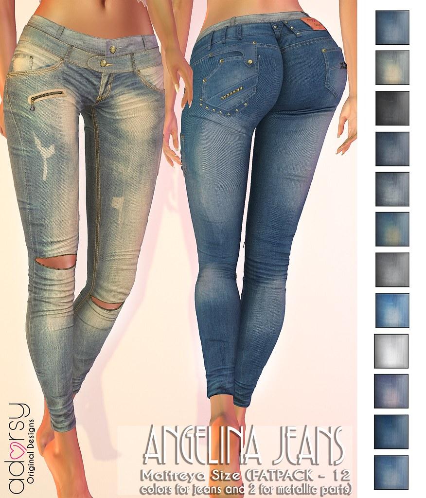 Angelina Jeans - adorsy - TeleportHub.com Live!