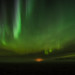 northern lights in the fog 6