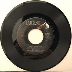 DARYL HALL & JOHN OATES:I CAN'T GO FOR THAT(NO CAN DO)(RECORD SIDE-B)