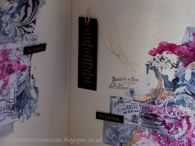 flourish art journal pages 2