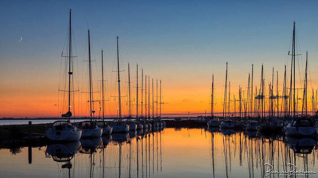 Sunset Marina Herkingen