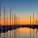 Sunset Marina Herkingen