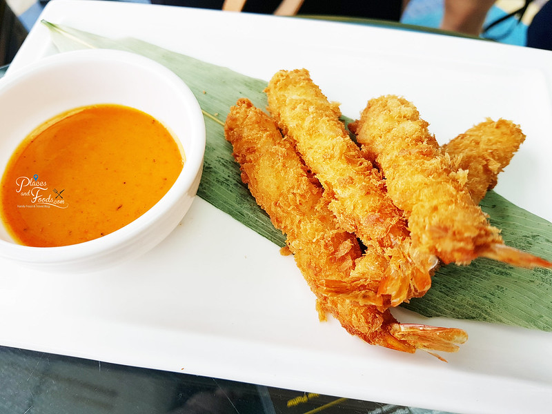 tap it out fried prawn