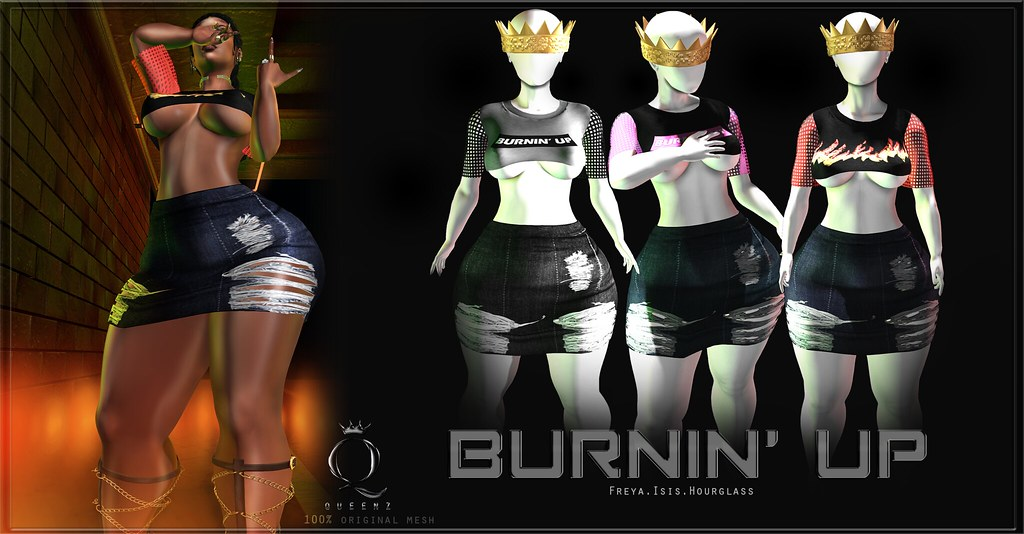 QUEENZ | Burnin' Up - TeleportHub.com Live!